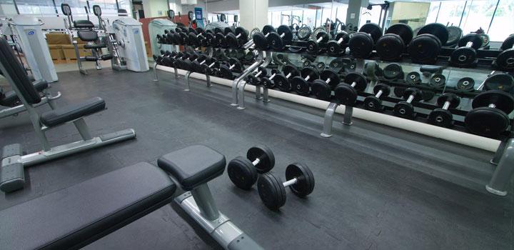 Piso para crossfit y equipo para gimnasio - Equipamiento de gimnasios ...